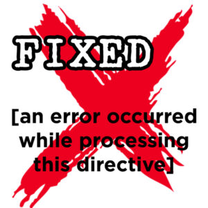 Fix [an error occurred while processing this directive] in WordPress by setting file permissions with this recursive, automatic PHP script