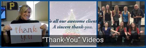 Thank-You Videos