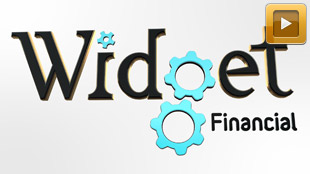 Widget Financial Logo Reveal